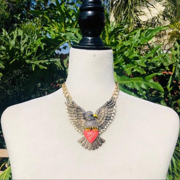 Jewelry - Betsey Johnson Eagle Necklace
